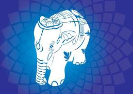 Asian Elephant Vectors