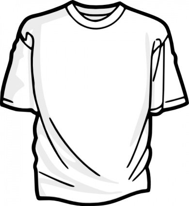 blank t shirt vector graphic