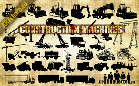38 Vector Construction Machines