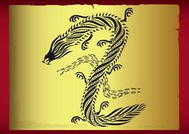 Conception de tatouage de Dragon