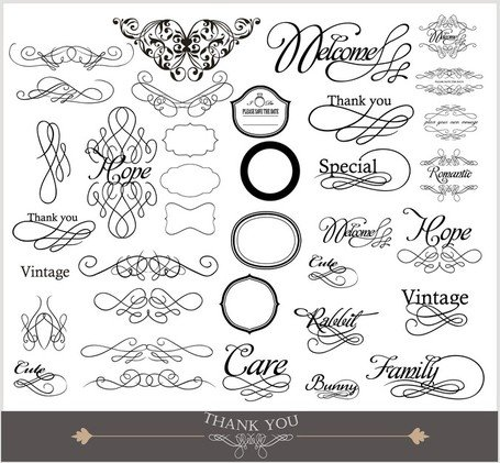 Europeanstyle Lace Border 01