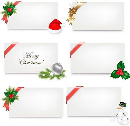 Beautiful Christmas theme elements vector-3