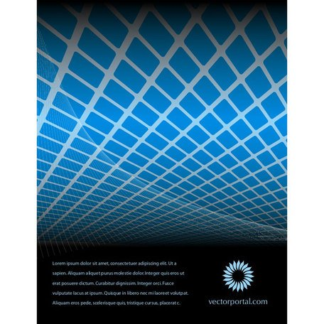 ABSTRACT FREE VECTOR BLUE TILES.eps