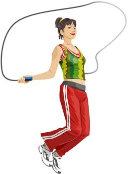 Image result for jumping rope clipart