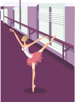 c4a6f9cbb Free Ballet ballerine girl 2 Clipart and Vector Graphics - Clipart.me