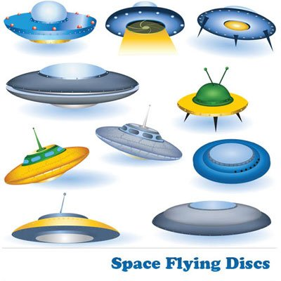 Vectors Space Flying Discs