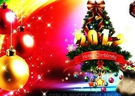 Christmas PSD - Merry Christmas 2012