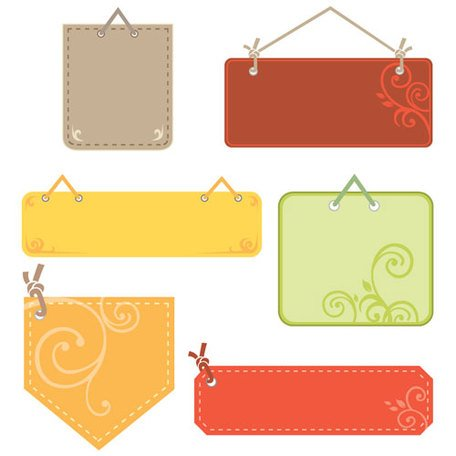 free cute tag label clipart and vector graphics clipart me