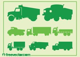 Camion Silhouette Set