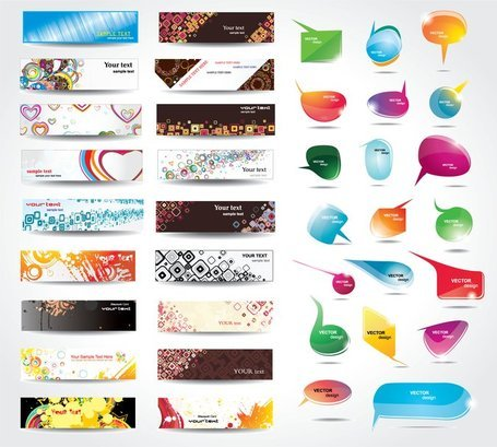 Dynamic Colorful Banner