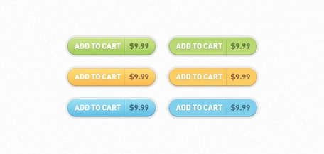 Add to Cart Buttons (PSD)
