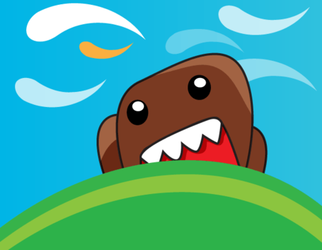 Domo Kun Cute Monster