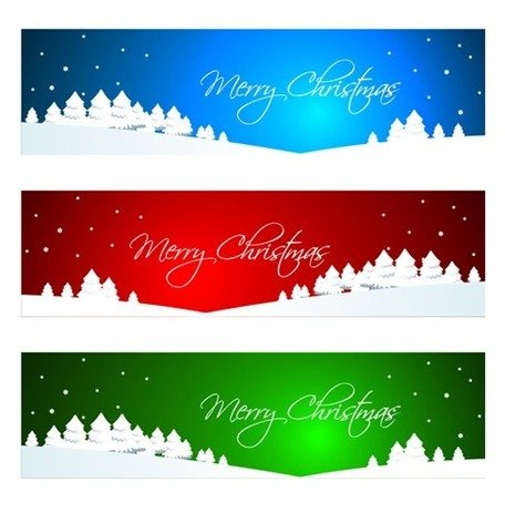 Christmas Banner or Header