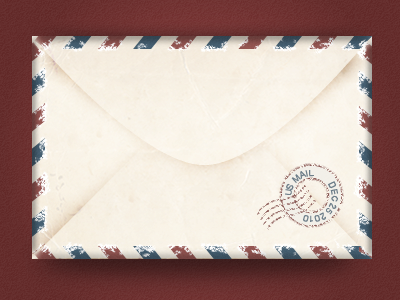 Old Style Envelope