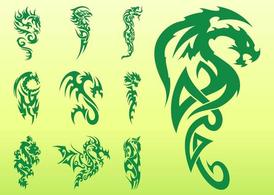 Set de tatouage de Dragon