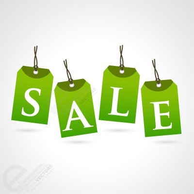 Vector Sale tag free download