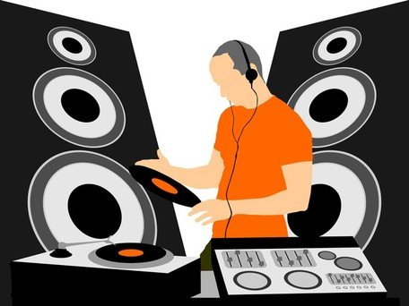 DJ-Equipment und Dj-Musik