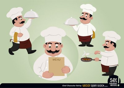 Chef Character Set