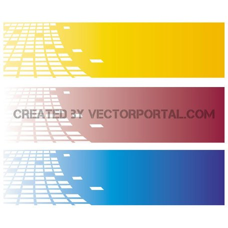 FREE VECTOR BANNERS 7.eps