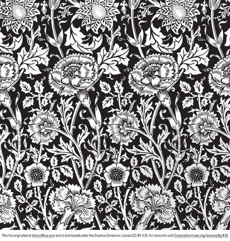 Floral Vector patroon