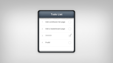Notepad To-Do List PSD
