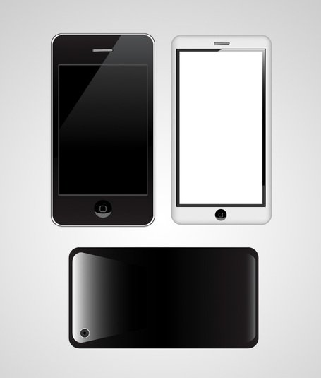 Vector de Apple IPhone 3G / 3GS / 4 G (libre)
