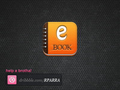 Book iPhone app icon