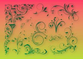 Floral Decoration Graphics