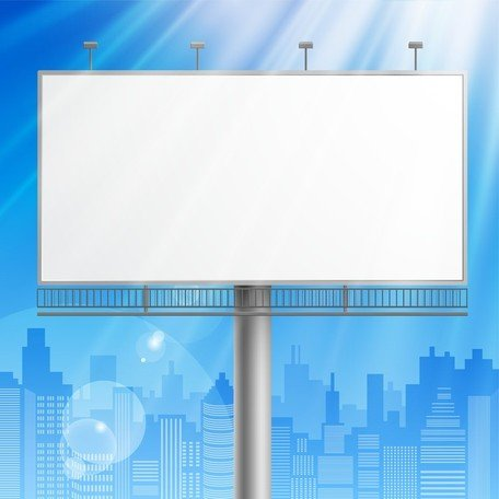 Outdoor Advertising Billboard Model 03