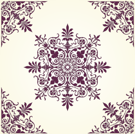 Free Vector: Floral Ornamental Pattern