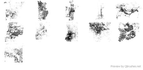 Free grunge brush pack
