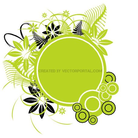 GREEN STOCK VECTOR ILLUSTRATION.eps
