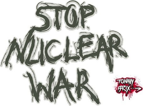 Stop Nuclear War - Design Tommy Brix