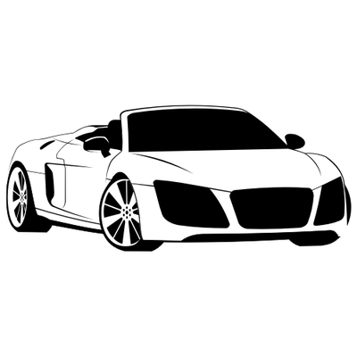 Free Audi R8 Spyder Clipart And Vector Graphics Clipart Me