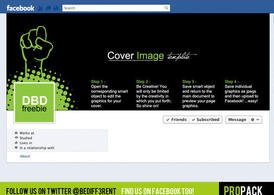 DBD | Cobre CoverPack PSD Template para Facebook