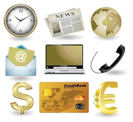 Business Webseite gold II