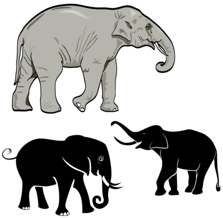 free free elephant vector art clipart and vector graphics clipart me rh clipart me elephant vectors free elephant vector freepik