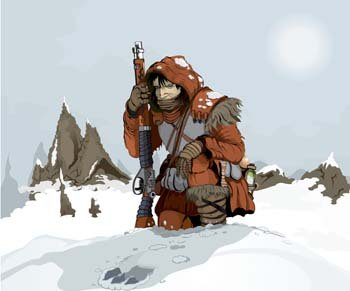 Snow hunter