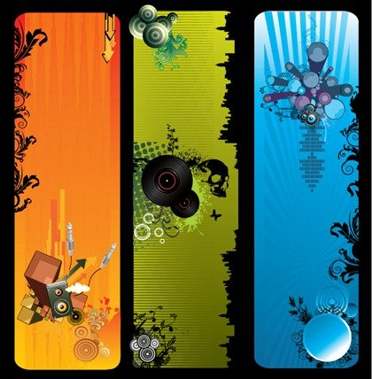 Free Vector Music Banners
