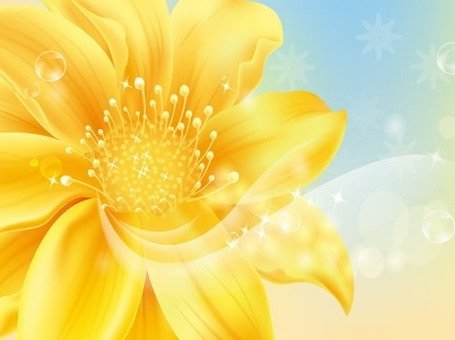 Free Golden Flower Clipart And Vector Graphics