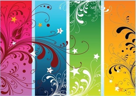 Colorful Nature Vectors