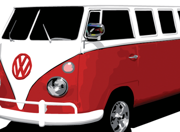 free vw bus clipart and vector graphics clipart me rh clipart me vw bus clip art free VW Clip Art