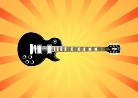 Electric Guitar Illustration