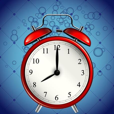 RELOJ despertador VECTOR GRAPHICS.eps