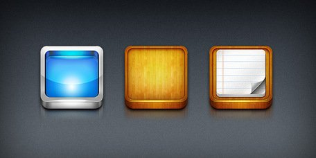plantillas iPhone app icon (PSD)