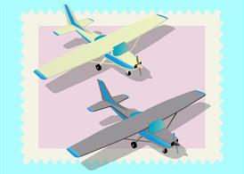 Twin Air Planes