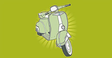 Scooter vettoriale wallpapers