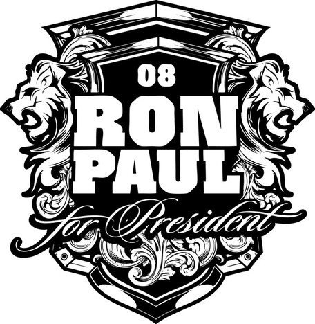 Ron Paul leones insignias