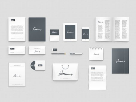 Modello di Corporate Identity