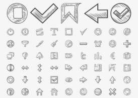 Hand Drawn Icons